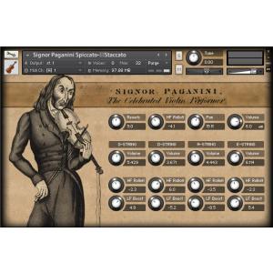 Signor Paganini Solo Violin - String Instruments - Virtual